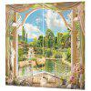 3D Landscape Curtain for Home Use - MULTI-A