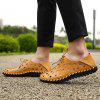Men's Fashion Holes Casual Sandals Lace-up - YELLOW