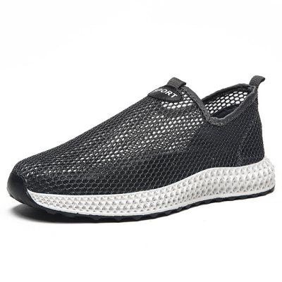 Men's Sports Breathable Single Layer Mesh Casual Shoes Unique