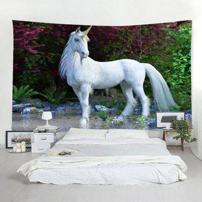 Home 3D Unicorn Tapestry