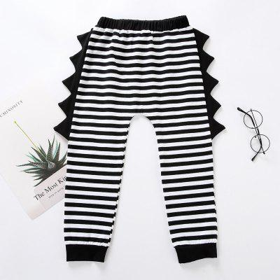 M0404 Striped Neutral Children Trouser