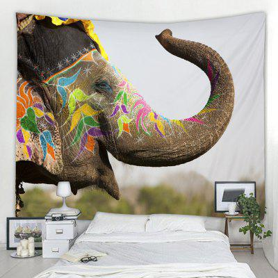 Home Decoration Elephant Pattern Tapestry