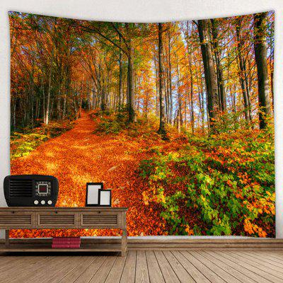 Maple Leaf Pattern Home Decoration Tapestry