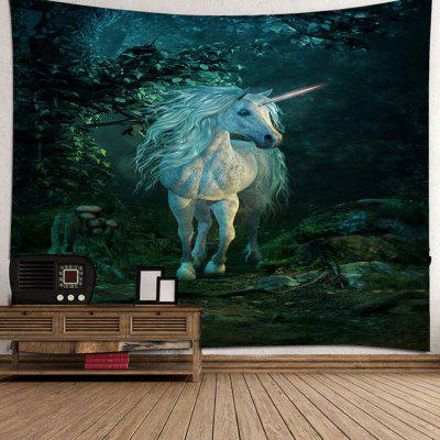 Forest Unicorn Home Decoration Tapestry