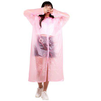 Household Outdoor Adult Disposable Raincoat