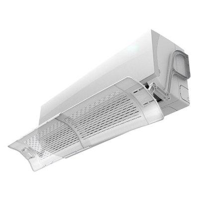 Anti-direct Blow Retractable Air Conditioning Outlet Baffle