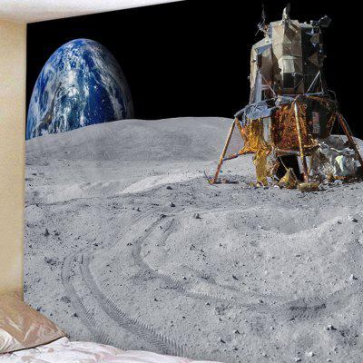 Moon Base Pattern Home Decoration Tapestry
