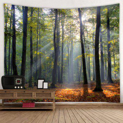 Home Forest Tree Pattern Tapestry
