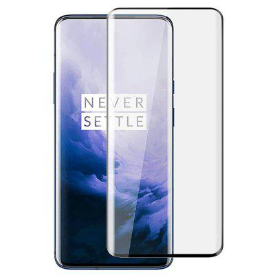 Naxtop 3D Arc Edge Tempered Glass Screen Protector for OnePlus 7 Pro