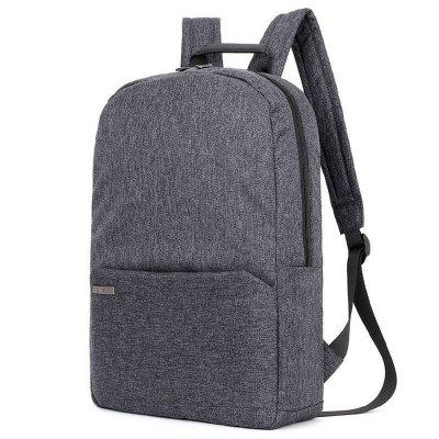 Outdoor Simple Solid Color Large Capacity Backpack Waterproof