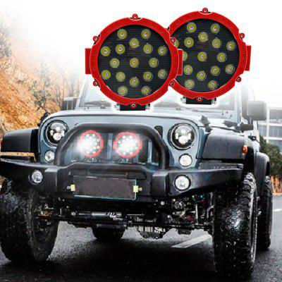 Y7C51W Off Road Car LED Engineering Light 51W Spotlight Fog Light Auxiliary Front Bumper Lamp