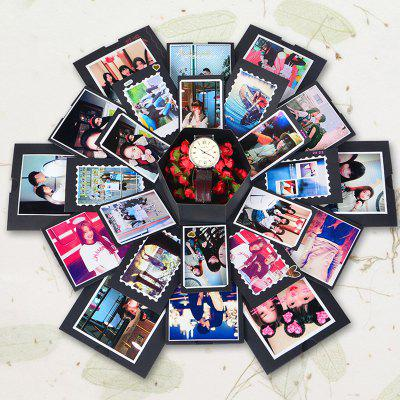 Hexagon Multi-layer verrassing DIY Album Gift