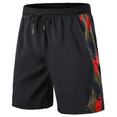 Men's Sports Shorts Fitness Running Breathable Fifth Pants