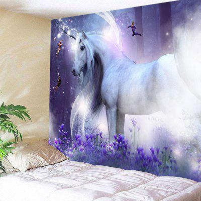 Χαριτωμένο Dream Unicorn Tapestry
