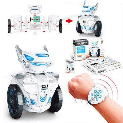 SUBOTECH DIY007 Smart DIY RC Robot Toy for Kids