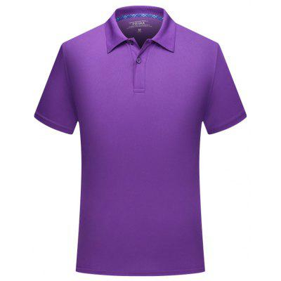 Men's T-shirt Short-sleeved Casual Sports Breathable Quick-drying