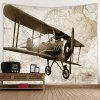 Home Retro Airplane Tapestry - MULTI-A