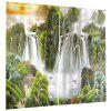 Home 3D Landscape Curtain 2pcs - MULTI-A