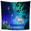 Dream Forest Unicorn Tapestry - MULTI-A