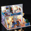 iiecreate K019 DIY Cottage Toy Doll House Kit - MULTI