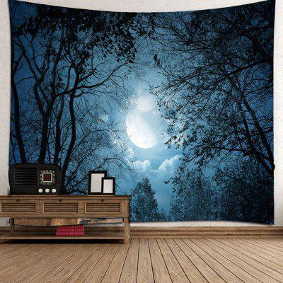 3D Forest Star Tapestry Home Decoration