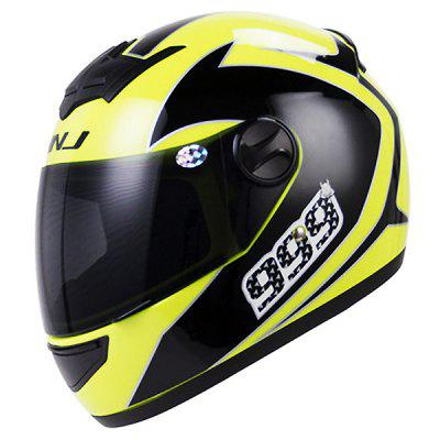 Men / Women Riding Universal Motorcycle Full Face Helmet