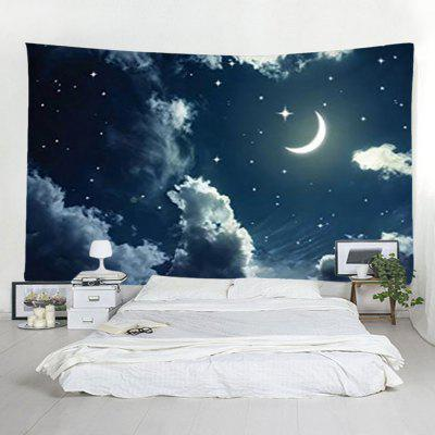 Moon Cloud Starry Tapestry Home Decoration