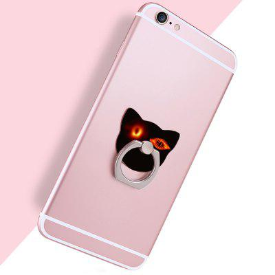 Black Hole Cat Head Phone Ring