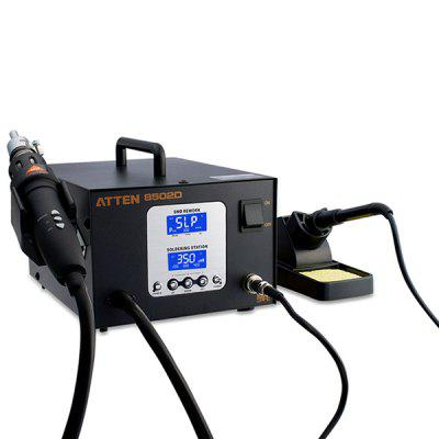 ATTEN AT8502D 2 in 1 Welding Torch Hot Air Gun Lead Free Intelligent Maintenance System