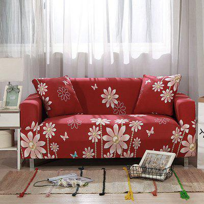 4018707 Flower Home Printing Sofa Cover