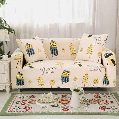 4018755 Small Eagle Printed Sofa Cover