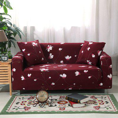 4018717 Flower Print Sofa Cover