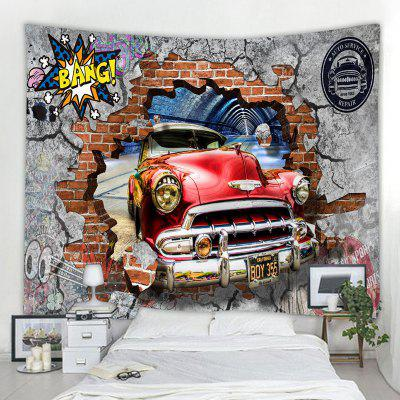 Car Wall Pattern Tapestry