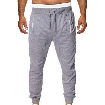 Men's Fashion Casual Pants with Belt