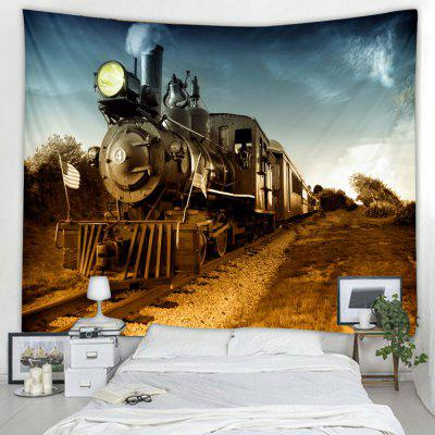 Creative Train Tapestry Home Decoration