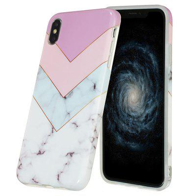 All-inclusive Soft Marble Mobile Phone Case for iPhone XS Max