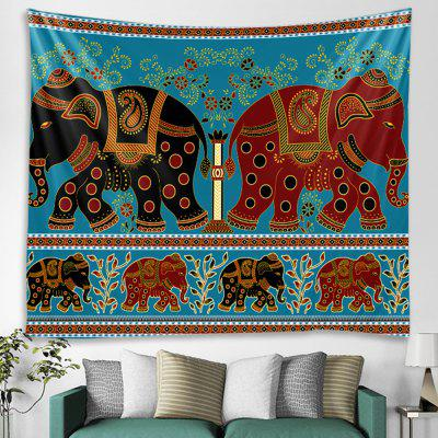 Elephant Tapestry Home Decoration