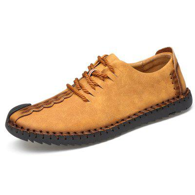 Men's British Style Outdoor Fashion Lace-up Casual Shoes