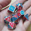 Mix Color Metal Dice Set 7ks - MULTI-A