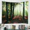 Forest Tapestry Home Decoration - PINE GREEN