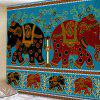 Elephant Tapestry Home Decoration - MULTI-A