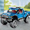 701970 DIY Off-road Vehicle Building Blocks Toys 1288PCS - BLUE