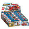 8 in 1 Children Building Blocks Fire Truck Toy 313pcs - RED