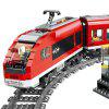 28032 2.4G RC Passenger Train Building Blocks 763PCS - RED