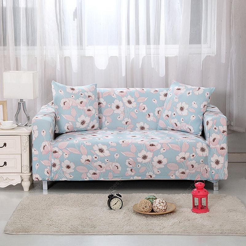 4018749 Home Flower Print Sofa Cover