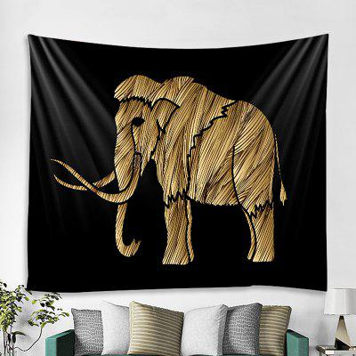 Elephant Fashion Home Dekorace Tapiserie