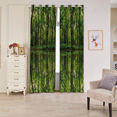 Woods Reflection Blackout Curtain