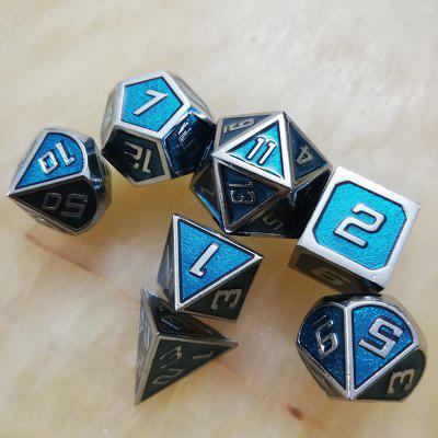 Popular Game Auxiliary Props Metal Dice Set