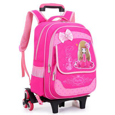 HONGBOSHI Girl Oxford Cloth Waterproof Trolley Bag