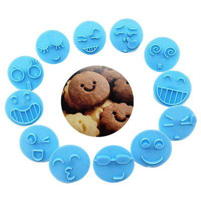 Smiley Impression DIY Pečení Biscuit Tool Set